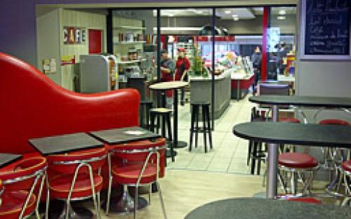 Réalisation d'un espace café