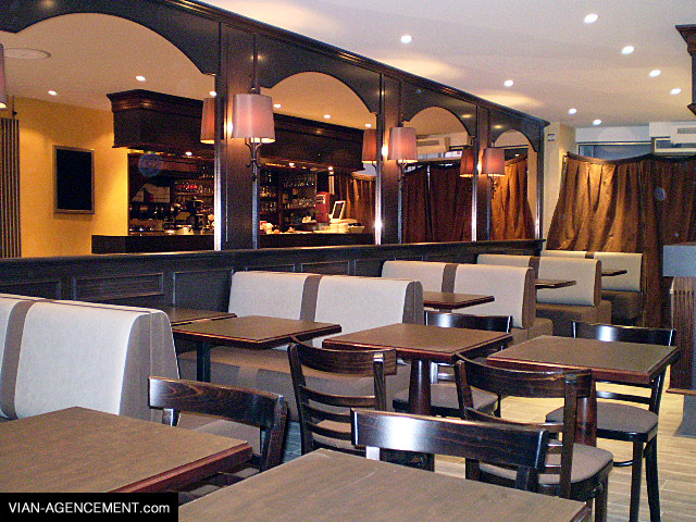 Vian agencement am nagement d 39 un bar for Amenagement bar cuisine