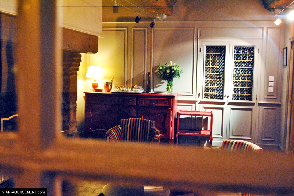 vian agencement am nagement int rieur d 39 un restaurant. Black Bedroom Furniture Sets. Home Design Ideas