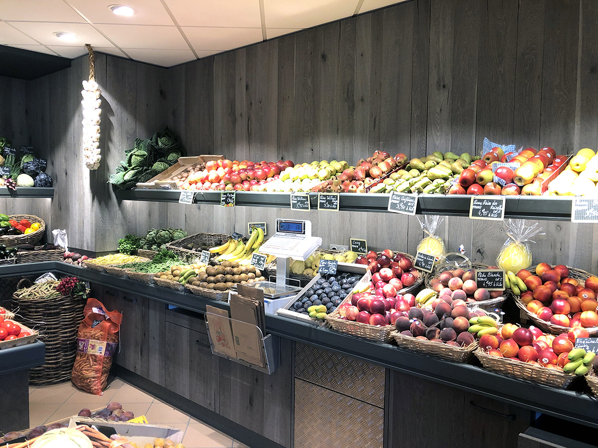 Meuble mural fruits & légumes