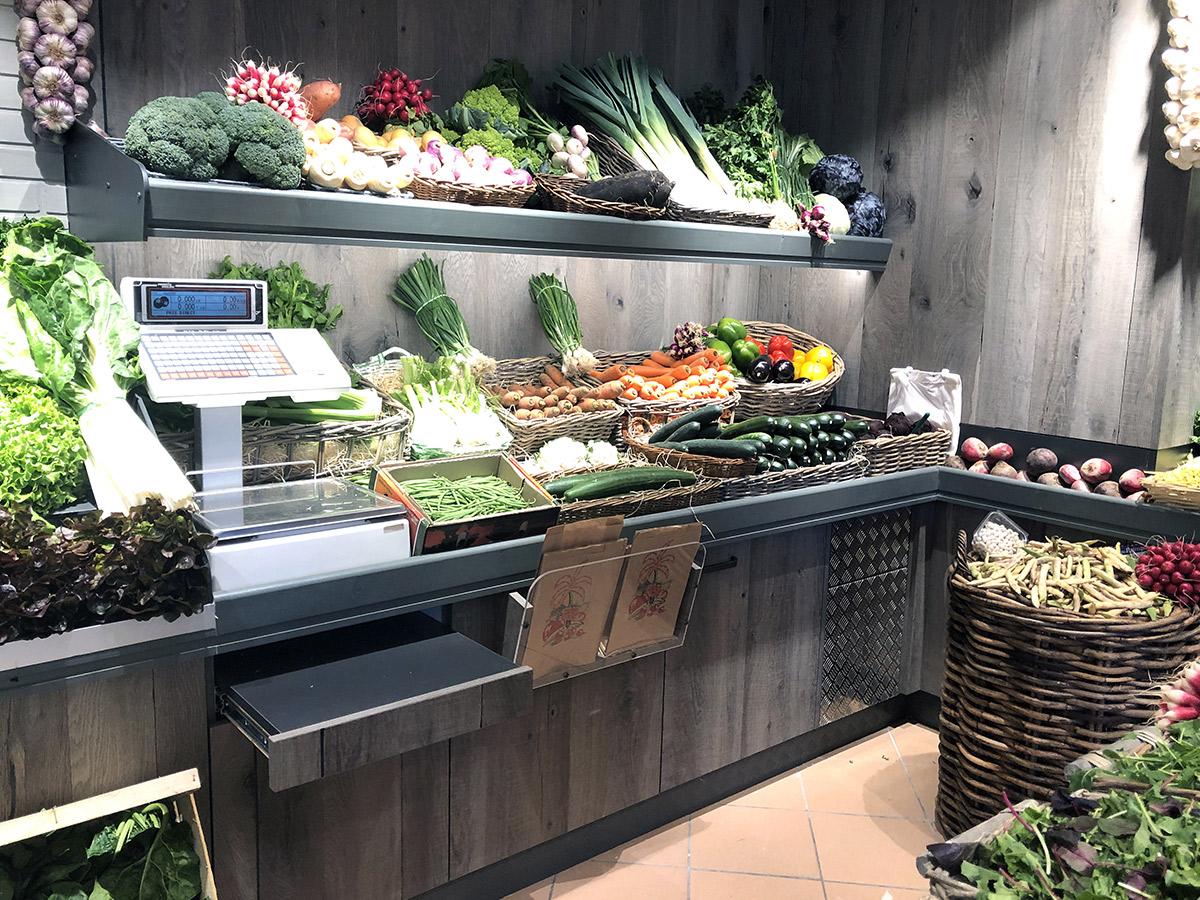 Meuble mural fruits et légumes