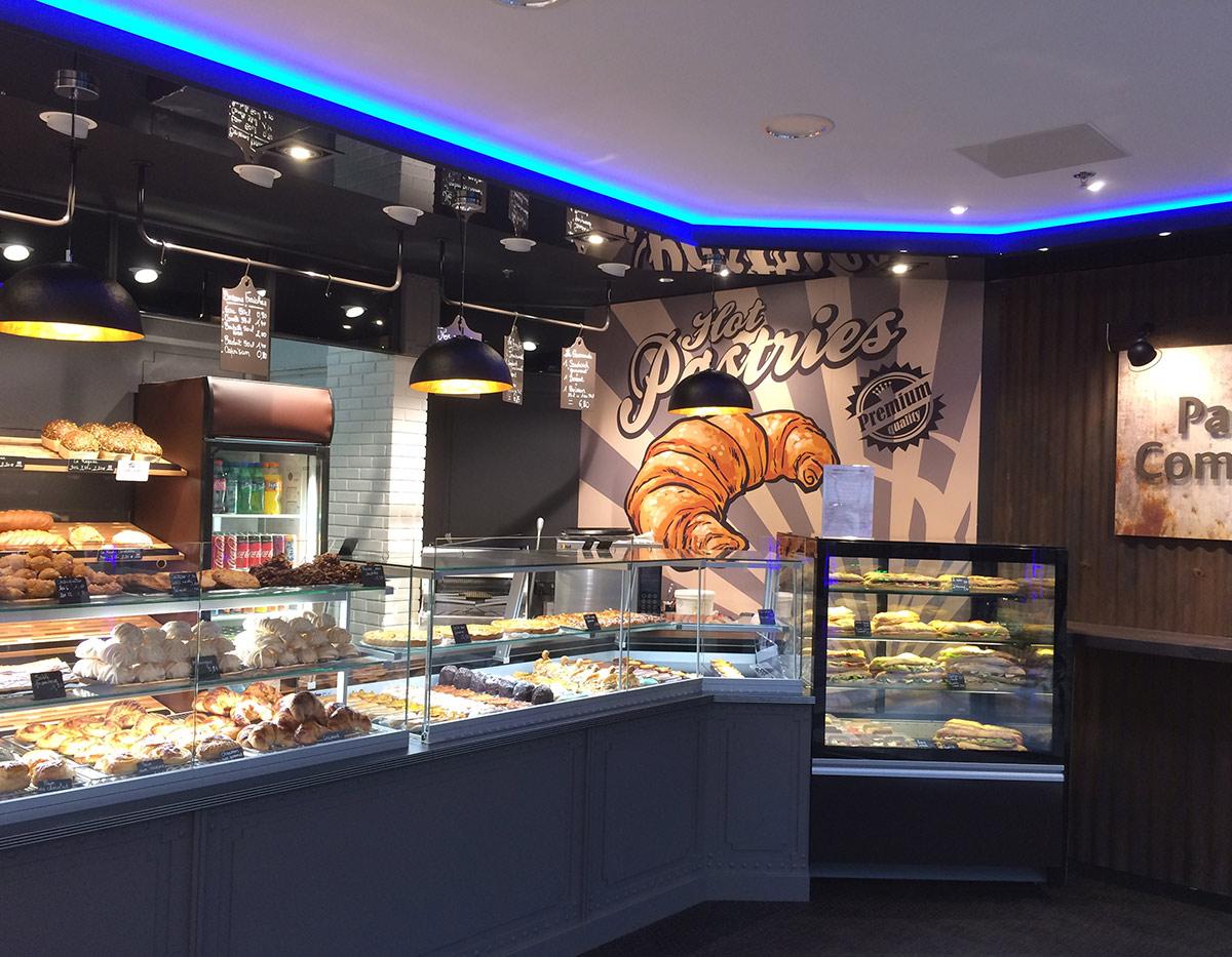 Agencement de boulangerie - panéterie en Normandie